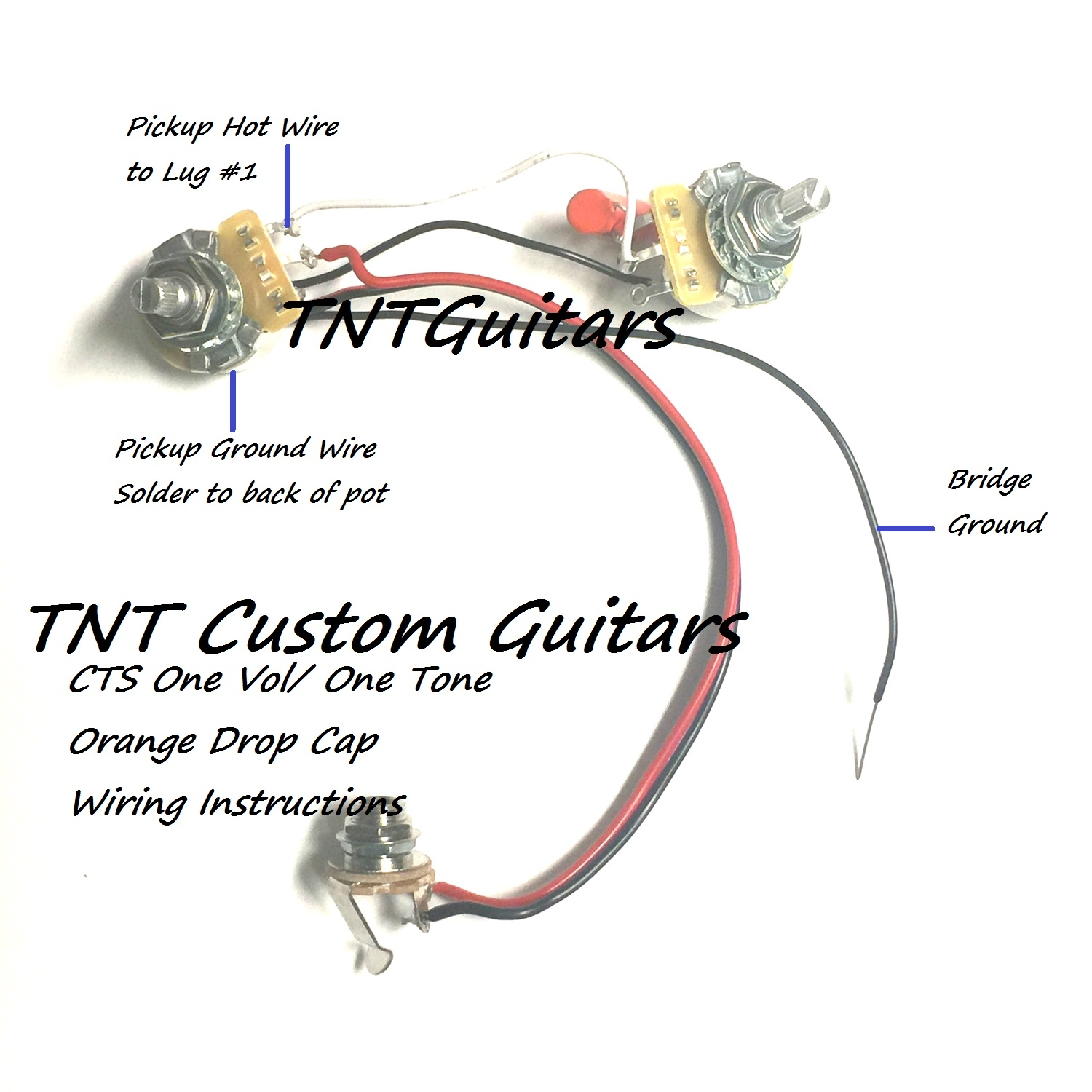 Nice One Humbucker One Volume Wiring Image - Electrical System Block ...